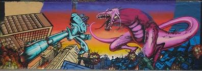 DinoRoboGrafffiti