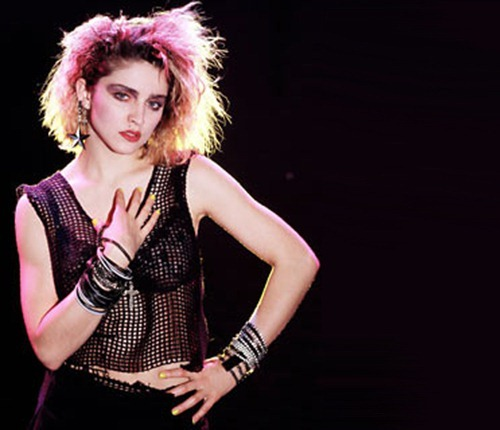 MADONNA, 1984: This exclusive photo-session with Madonna was made exactly 20 years ago in a photo-studio in Amsterdam. Her record company in Holland telephoned Dutch photographer Kees Tabak and asked him if he would like to photograph a new, totally-unknown singer called Madonna. Luckily he said yes. She brought along two dancers with her. The male dancer is her brother.  Shortly after this session Madonna became a world-known superstar.  **  USA & UK ONLY ** HIGHER RATES APPLY ** © Kees Tabak /  Sunshine / Retna UK