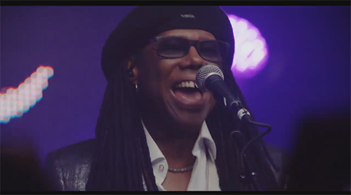 Nile Rodgers   CHIC feat Nile Rodgers   I ll Be There with Karlie Kloss   YouTube